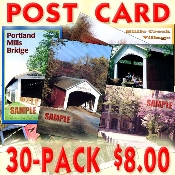 Postcards from Parke County (30 Assorted Post Cards)